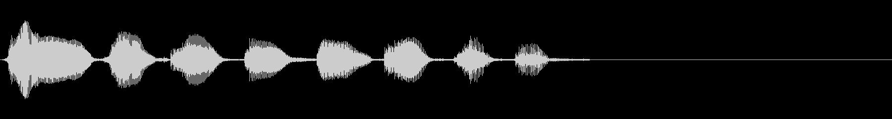 バイオリン:笑いアクセント、漫画コ...の未再生の波形