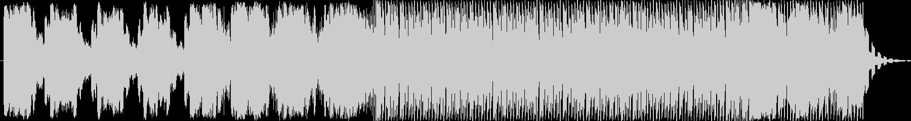 ダークでスペーシーなエレクトロニカの未再生の波形