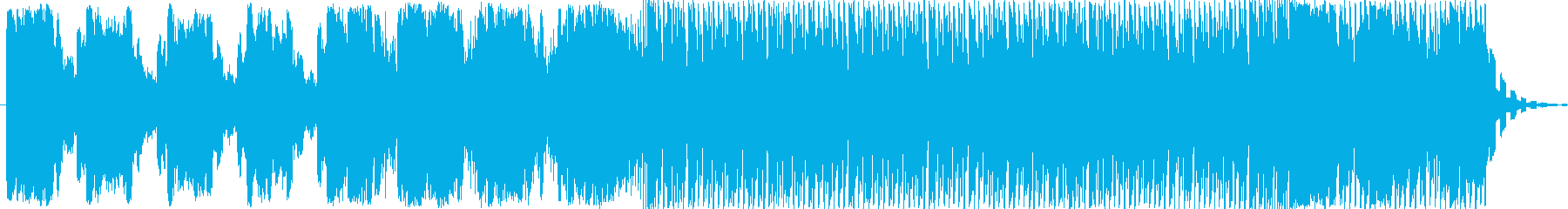 ダークでスペーシーなエレクトロニカの再生済みの波形