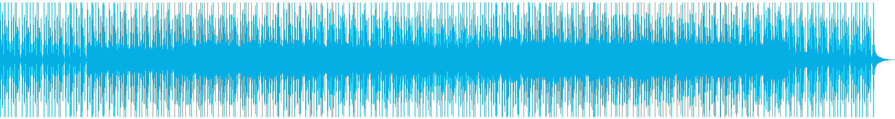 528Hz日常のストレス解放の瞑想曲3の再生済みの波形