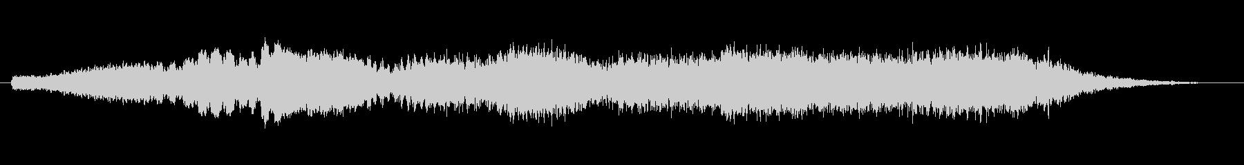 素材 ライズハムワーロー02の未再生の波形