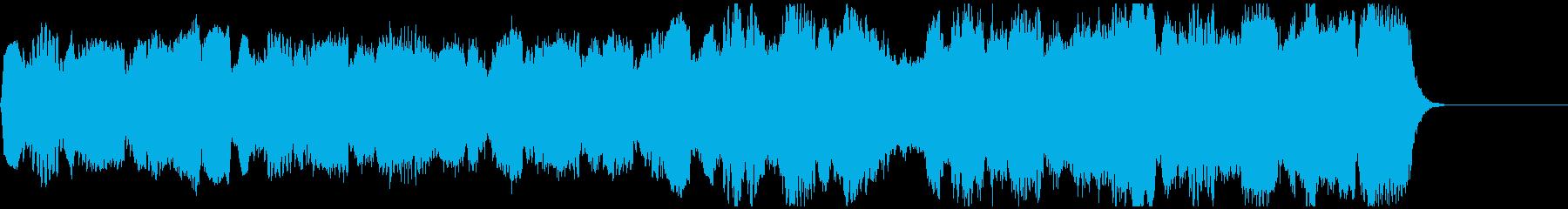 アメイジング・グレイス(生音の様なチェロの再生済みの波形