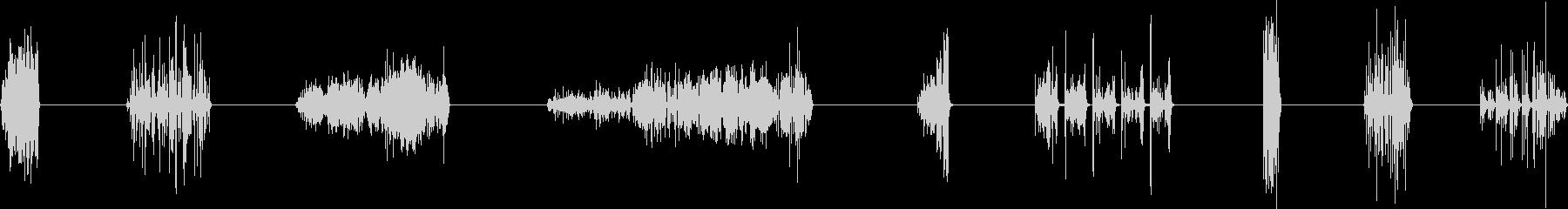 ロックスクリーン、メタル・アゲイン...の未再生の波形