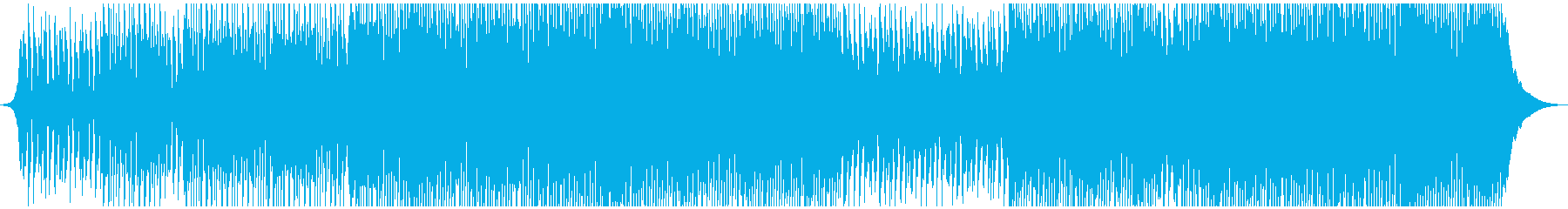 感動と高揚ポップコーポレートの再生済みの波形