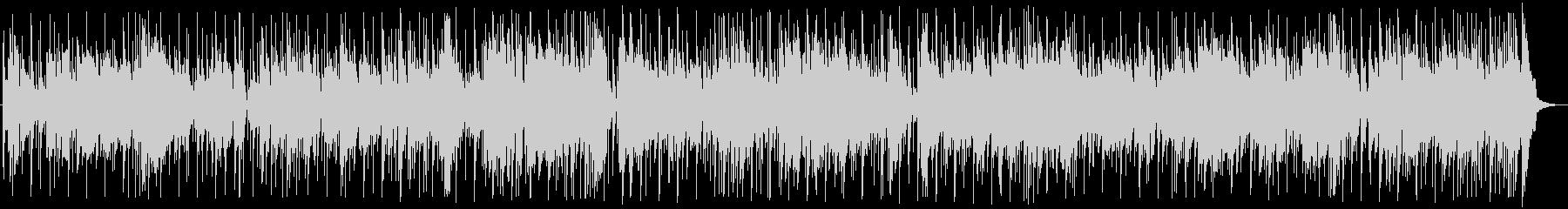 ファンキーな3コードの軽快なサウンドの未再生の波形