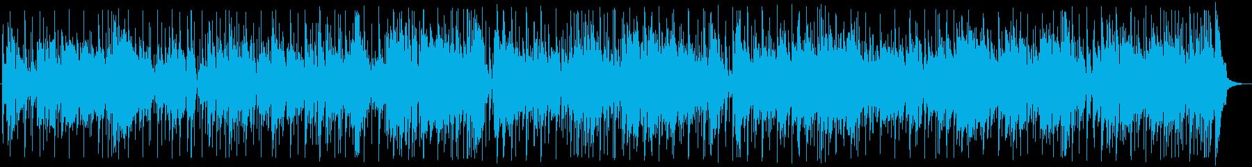 ファンキーな3コードの軽快なサウンドの再生済みの波形