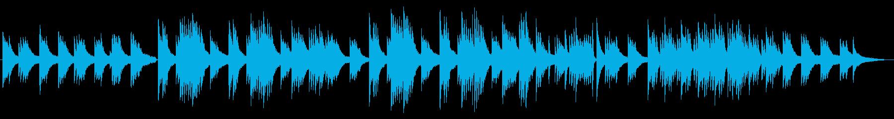 東洋的で浮遊感あるピアノソロ/家族/保険の再生済みの波形