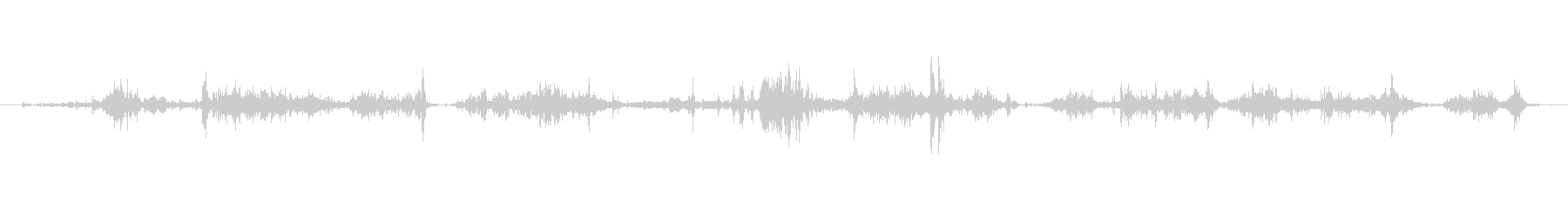 ゴミ スクレープロックスロング03の未再生の波形