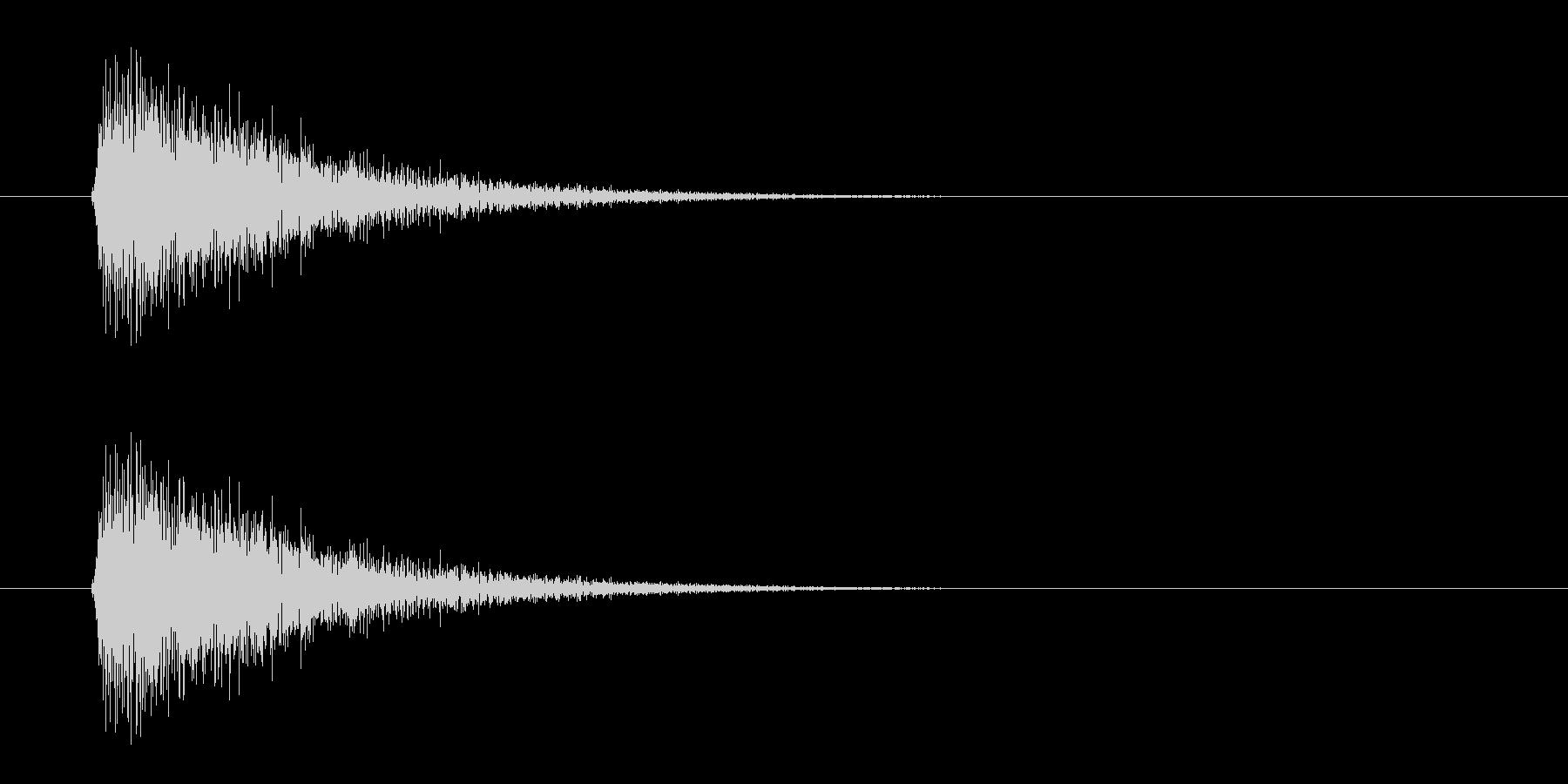 レーザー音-06-3の未再生の波形