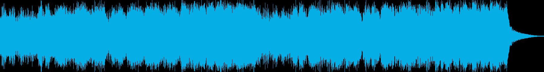 哀愁のある幻想曲でクワイアを多く使用の再生済みの波形