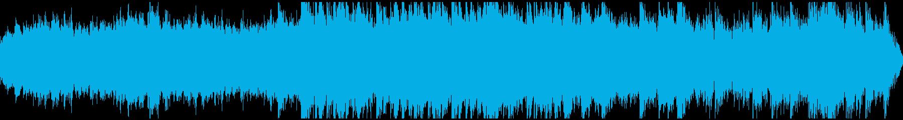 神秘的なダンジョンBGM(ループ)の再生済みの波形