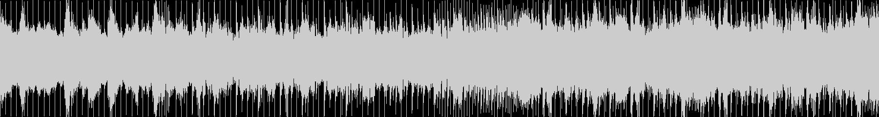 和風と現代音楽のごちゃ混ぜループBGMの未再生の波形
