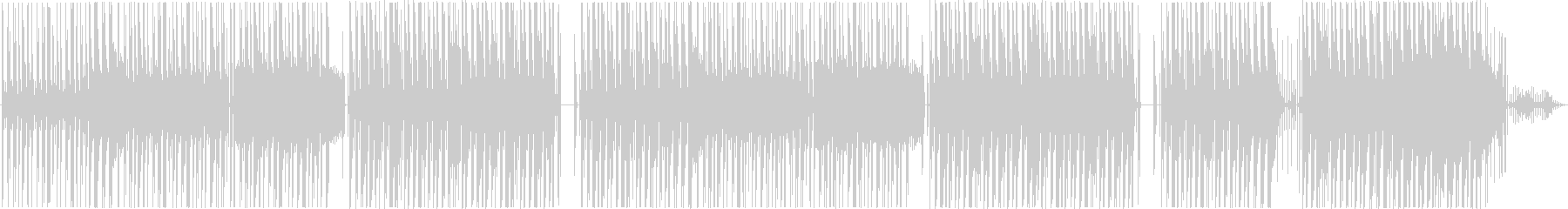 snoop doggっぽいヒップホップの未再生の波形