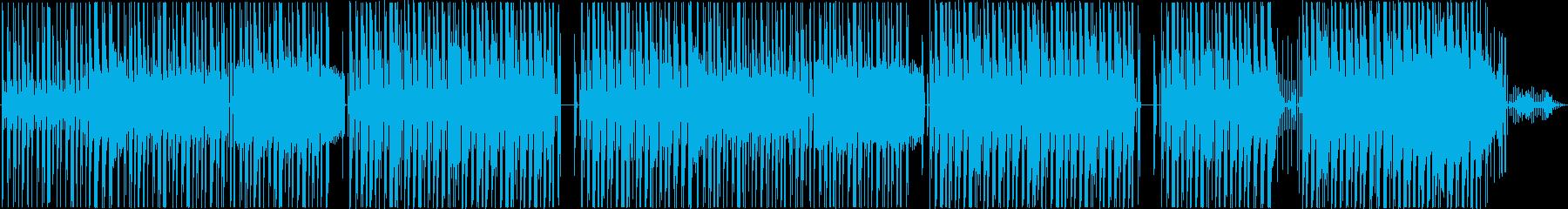 snoop doggっぽいヒップホップの再生済みの波形