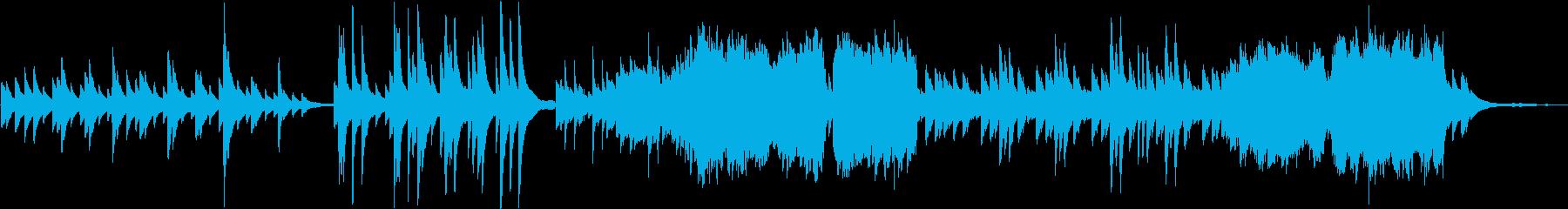 【ピアノ&木管楽器】温かい・平和・日常の再生済みの波形