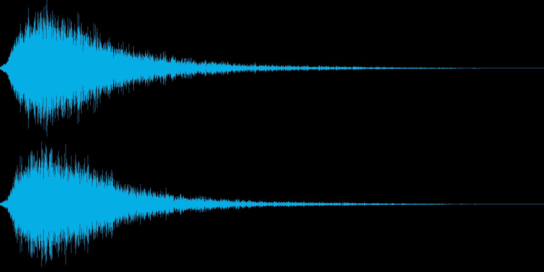 シャキーン キラーン☆強烈な輝きに!19の再生済みの波形