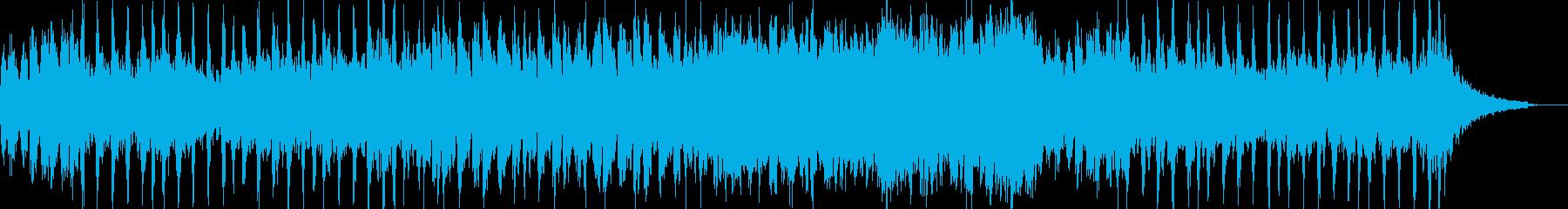 オーケストラでゲームのRPGのような曲の再生済みの波形