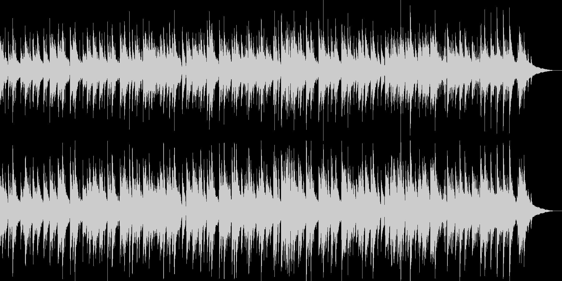 ラウンジピアノのイメージの未再生の波形