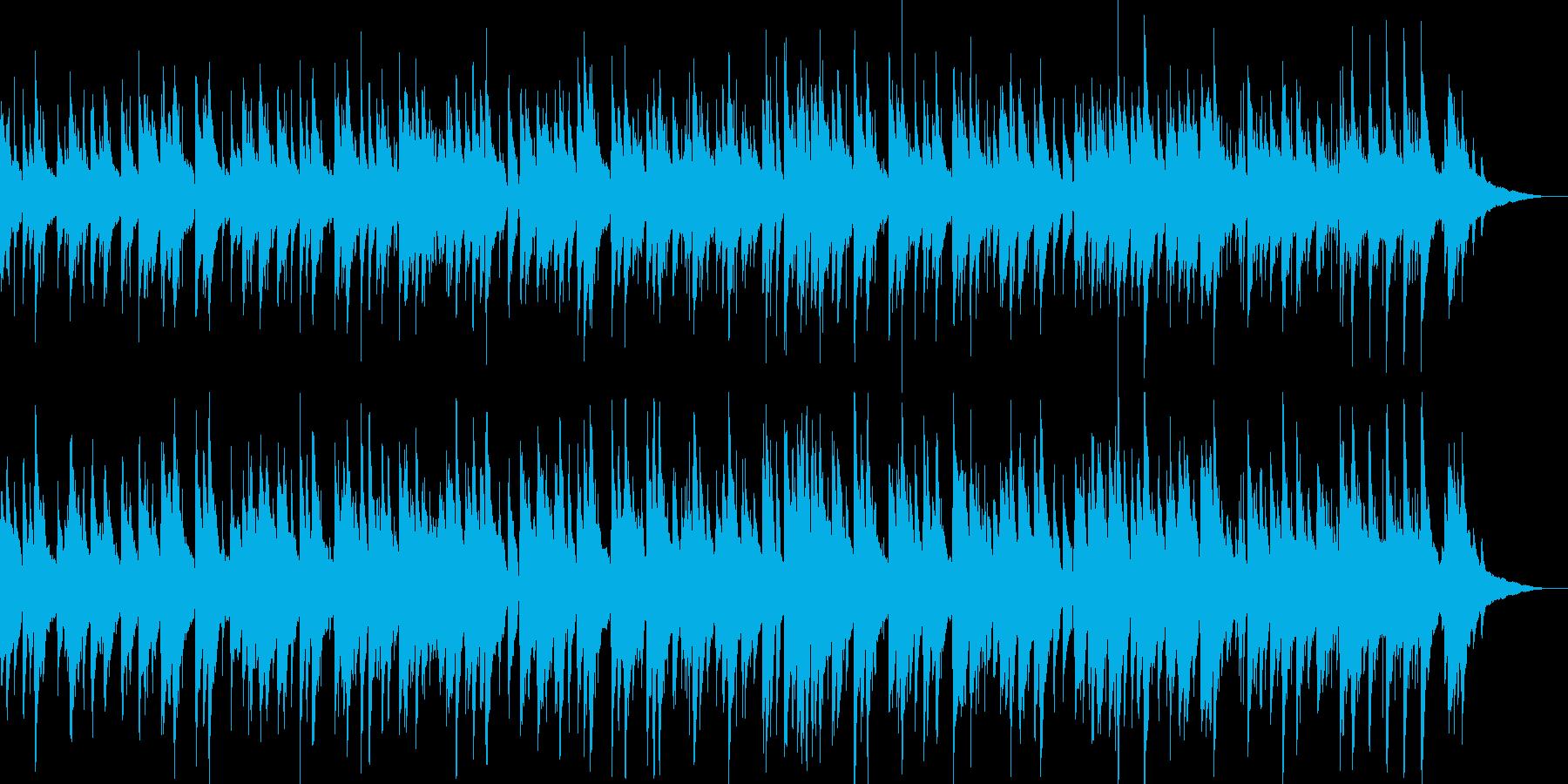 ラウンジピアノのイメージの再生済みの波形