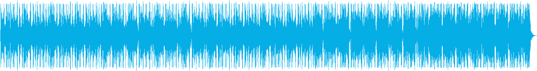 ハードボイルドなBGM_No584_1の再生済みの波形