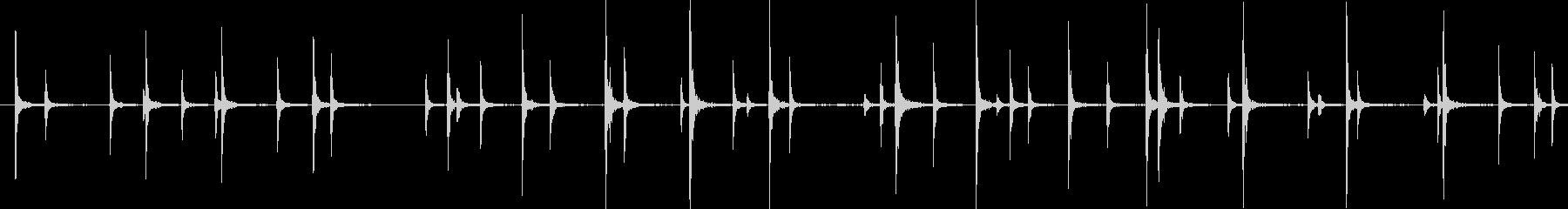 ハルポップはほうきで外装サブを打つの未再生の波形