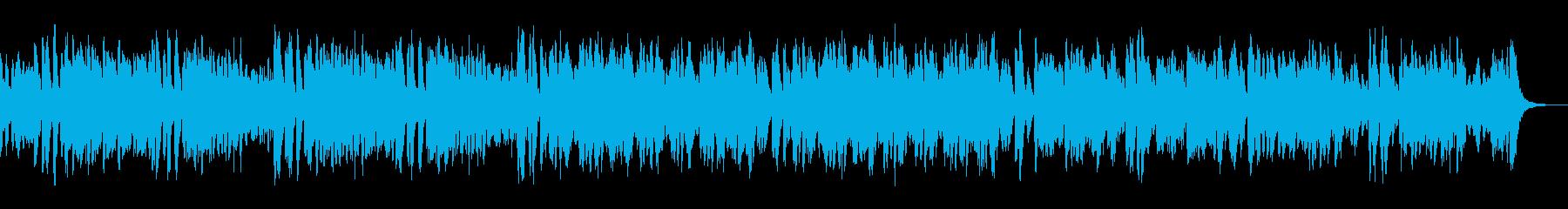 わくわく楽しい軽快なラグタイムピアノ02の再生済みの波形