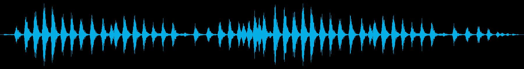 ラージチキンクープ:ヘビークッキングの再生済みの波形