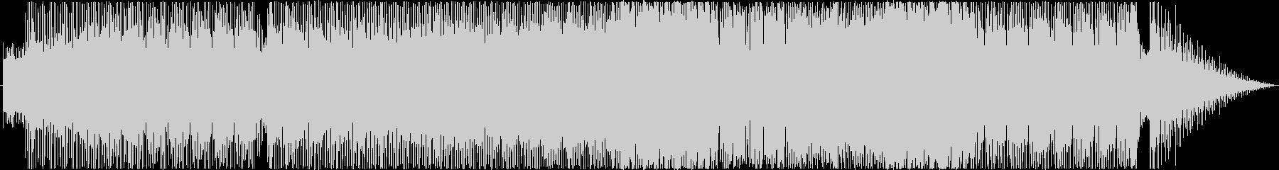 シャッフルビートのファンキーな曲の未再生の波形