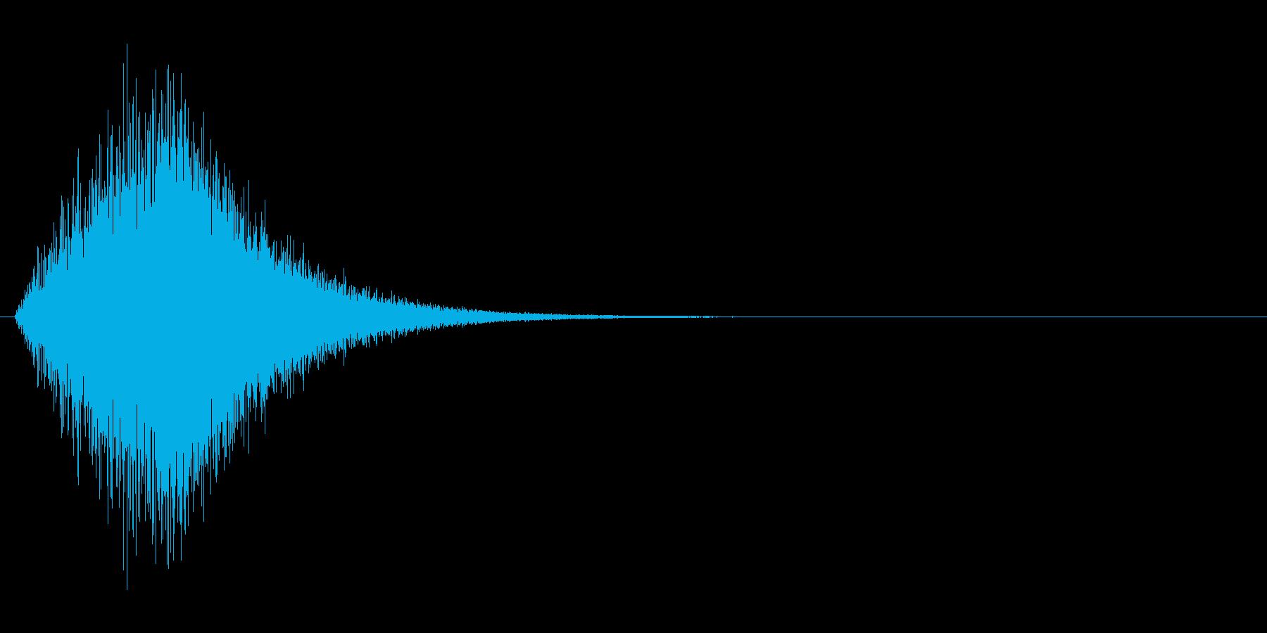ヒュオォォ...(風魔法、突風)の再生済みの波形