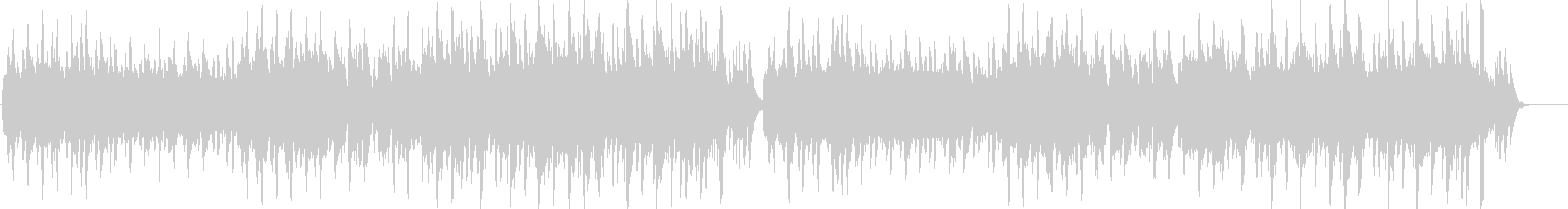 エレガントなフルートのワルツの未再生の波形