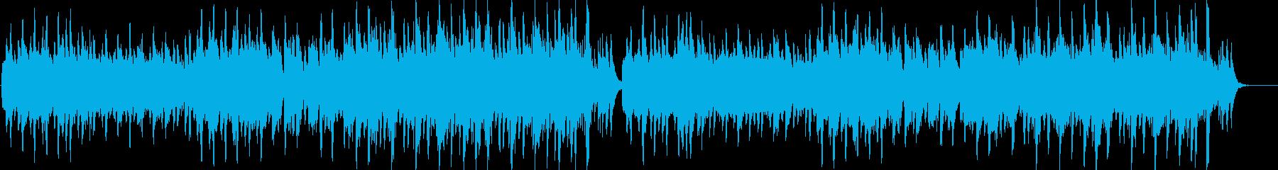 エレガントなフルートのワルツの再生済みの波形