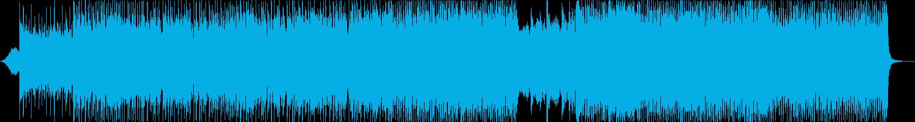 映画ソラリスなどイメージした物憂げな歌詞の再生済みの波形