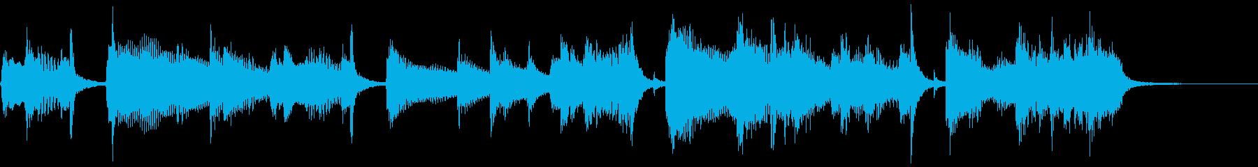 アコギヒップホップ感動洋楽コーポレートeの再生済みの波形