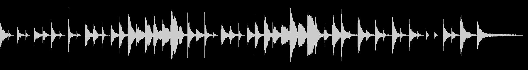 15秒CM優しい雰囲気木琴子供用品女性母の未再生の波形