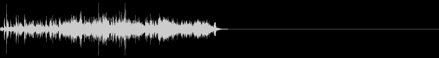 メタルシフト、チャイム、チェーン、...の未再生の波形