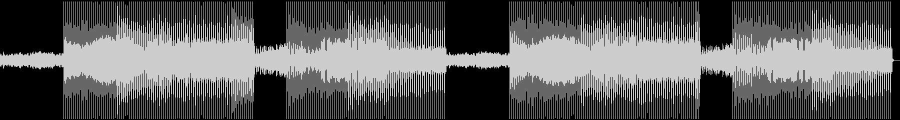 海をモチーフにした曲の未再生の波形