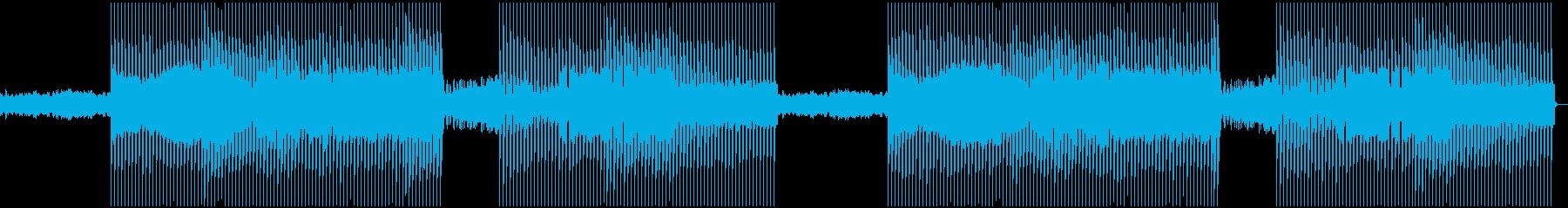 海をモチーフにした曲の再生済みの波形
