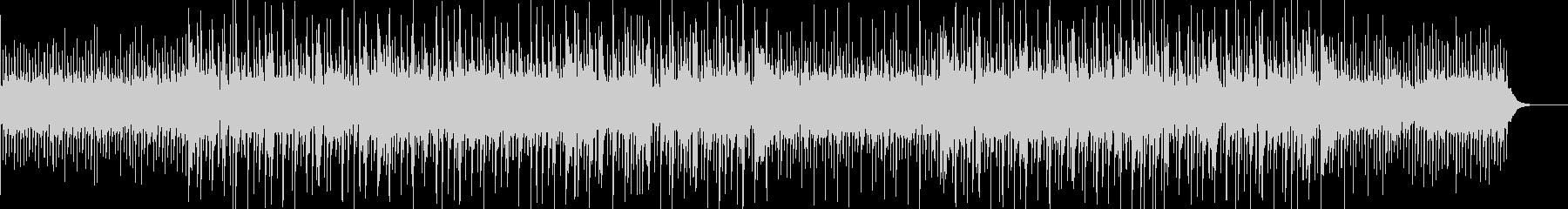 ヒーリング音楽っぽい気持ちのいいBGMの未再生の波形