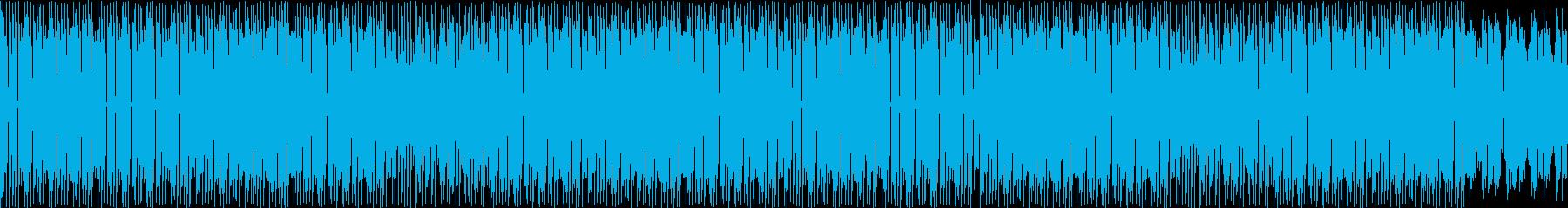 重厚な物が動いている様子を表現の再生済みの波形