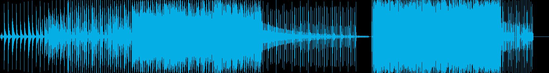 かなしい曲ですの再生済みの波形