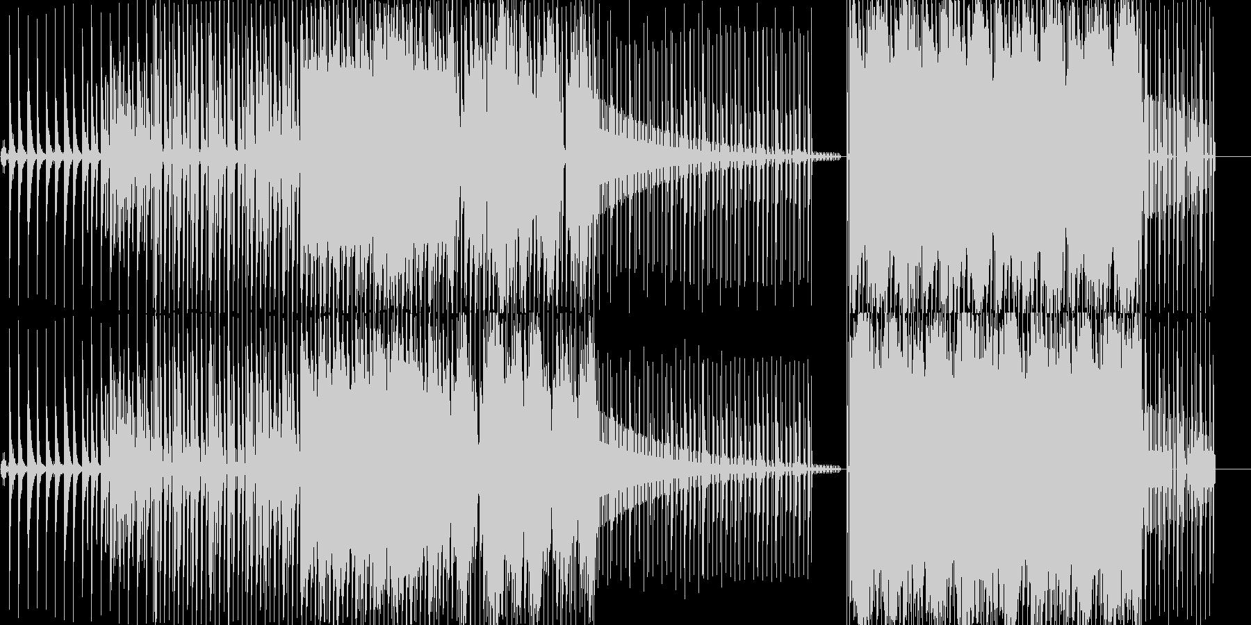 かなしい曲ですの未再生の波形