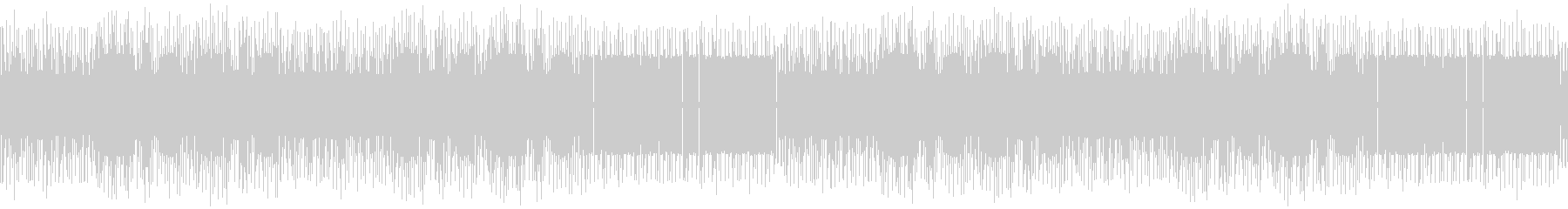 陽気なゲーム音楽のジャズブルース:ループの未再生の波形