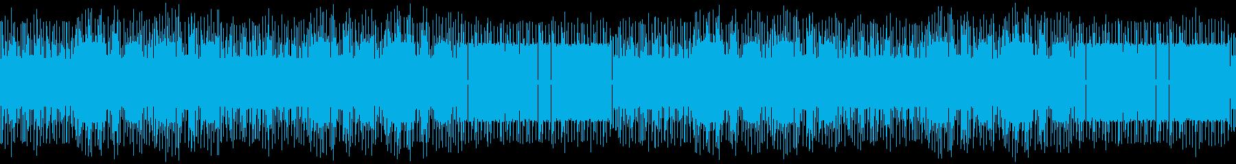 陽気なゲーム音楽のジャズブルース:ループの再生済みの波形