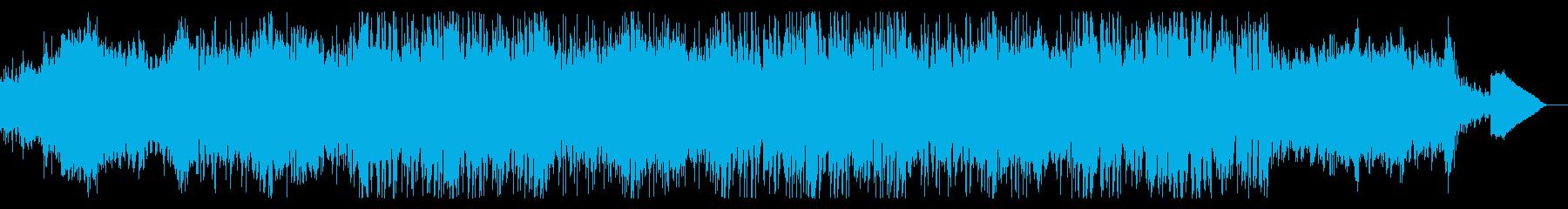 ディープなテクスチャドローンの再生済みの波形