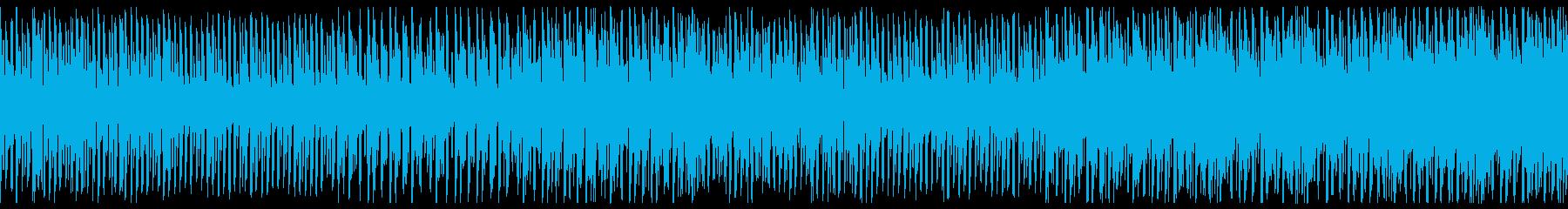 ループ バージョンの再生済みの波形