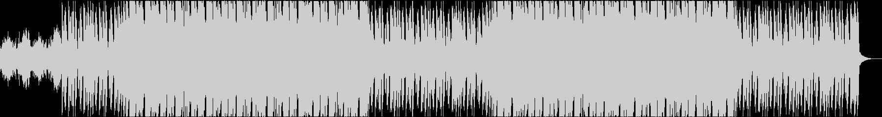 サイバーで怪しいインダストリアルサウンドの未再生の波形