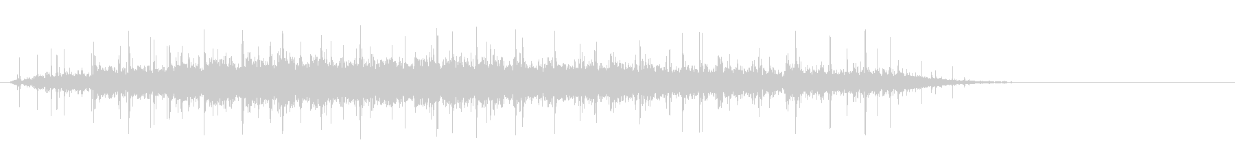 [生録音]拍手02(コンサートホール)の未再生の波形