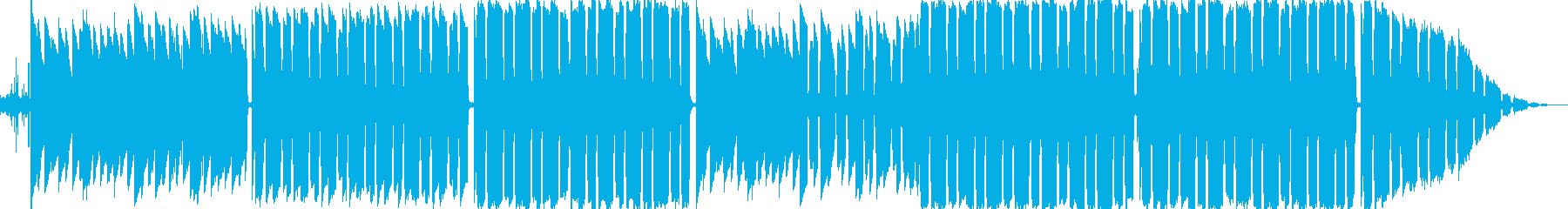 夏をイメージしたLo-Fi Hiphopの再生済みの波形