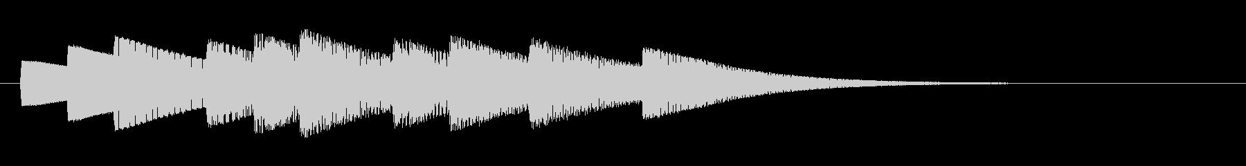 KANT入店音ジングル010143の未再生の波形