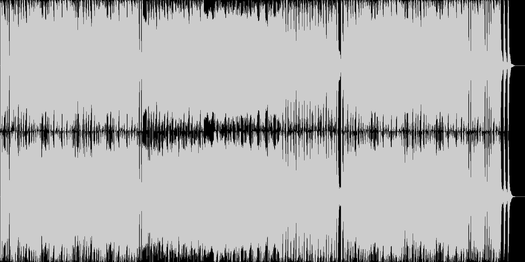ピチカートメインのかわいく軽快なBGMの未再生の波形